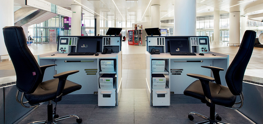 Сheck-in counters Nizhniy Novgorod  Strigino  airport